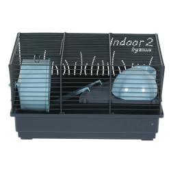 zolux Cage Indoor 2. bleu 40 . pour hamster. 40 x 26 x hauteur 22 cm. Cage