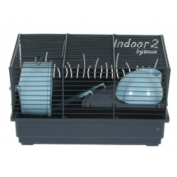 zolux ZO-205102 Indoor Cage 2. blue 40 . for hamster. 40 x 26 x height 22 cm. Cage