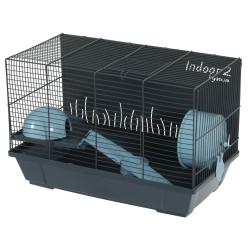 Indoor Cage 2. 50 azul para hamster. 51 x 28 x altura 32 cm. ZO-205104 Cage