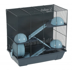 zolux ZO-205108 Indoor Cage 2. 50 sky triplex for hamster. 51 x 28 x height 48 cm. Cage