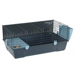 zolux Cage Indoor2. 80 ciel pour rongeur. 81 x 54 x hauteur 35 cm. Cage