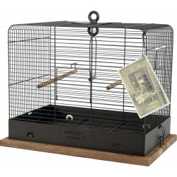 zolux Cage RETRO CELESTINE. 41 x 31 x height 48 cm. for birds. Cages, aviaries, nest boxes