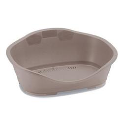 Stefanplast Plastic Sleepper basket 3. 80.5 x 55 cm light pink. for dog. Panier plastique chien