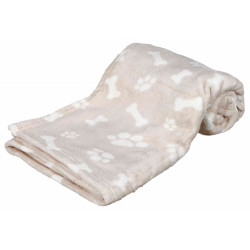 Trixie TR-37167 Kenny's blanket. Size L-XL. 150 × 100 cm. beige color. for dog. Dodo