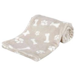Trixie Decke Kenny. Größe S-M. 100 × 75 cm beige Farbe. für Hund. TR-37166 Empfang