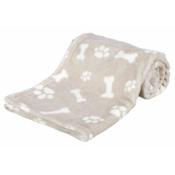 Trixie TR-37166 Kenny blanket. size S-M. 100 × 75 cm beige color. for dog. Reception