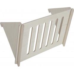 zolux Neo wooden hay rack. 21 x 14 x 12 cm. Raterier