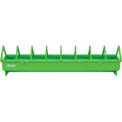 zolux 40 cm. green plastic feeder. for backyard. Mangeoire