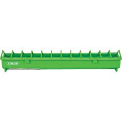 zolux 50 cm. green plastic feeder. for backyard. Mangeoire