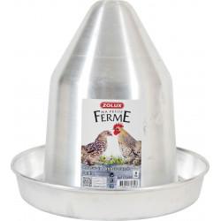 Bebedouro de alumínio. capacidade 6 litros. pátio baixo. ZO-175600 Abreuvoir