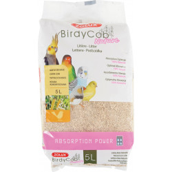 zolux ZO-146352 Birdycob Nature Litter. 5 liters. for birds. Birds
