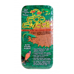 zolux ZO-387550 Compressed coconut fiber. 7-8 liters. weight 650 g. for reptiles. Amphibian reptiles