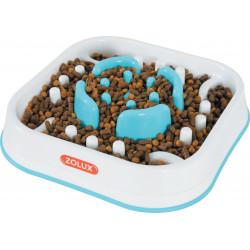 zolux Square anti-slug bowl. 28 x 28 x 6.5 cm. for dog. Bowl and fountain