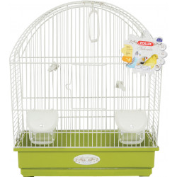 zolux Cage Arabesque Salome 40. olive. Size: 40 x 31 x 48 cm. for birds. Cages, aviaries, nest boxes
