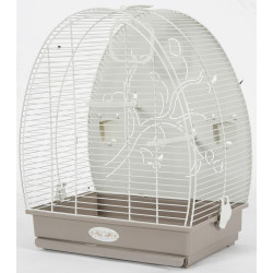 zolux Cage Arabesque Alice 40 background . Mole. Dimension: 41 x 30 x 49.5 cm. for birds. Cages, aviaries, nest boxes