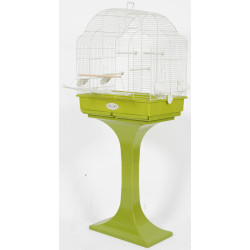 zolux Cage Arabesque Louise 68 on feet. olive. Dimension: 68.5 x 36 x 135 cm . for birds. Cages, aviaries, nest boxes
