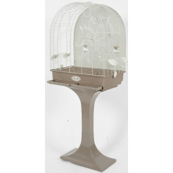zolux Cage Arabesque Anna 60 on feet. Mole. Dimension: 62 x 42 x 142 cm . for birds. Cages, aviaries, nest boxes