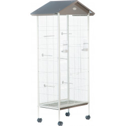 zolux Aviary Arabesque Jeanne 78. Taupe Dimension: 78 x 48 x 156 cm . for birds. Volieres oiseaux