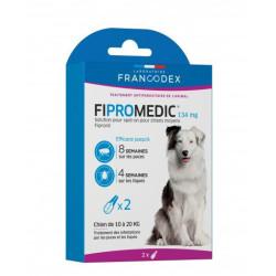 francodex 2 Fipromedic-Pipetten 134 mg. Für Hunde von 10 kg bis 20 kg. antiparasitär FR-170358 antiparasitär
