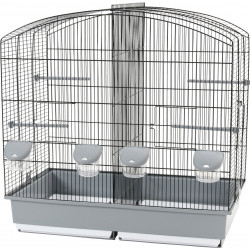 zolux Familly 6 black-grey cage. 70 x 40 x 70 high. for birds. Cages, aviaries, nest boxes