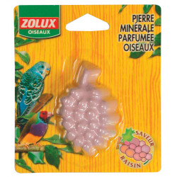 zolux ZO-142201 Grape-scented mineral stone. 21 g. for birds Birds