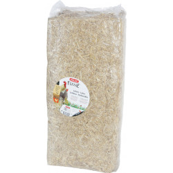 zolux Natural straw 240 litre ( 8 kg ). 39 x 18 x 80 cm. birds and rodents. Hay, litter, shavings