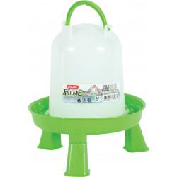 zolux Abreuvoir en plastique avec pieds. capacité 1.5 litres. basse cour. Abreuvoir