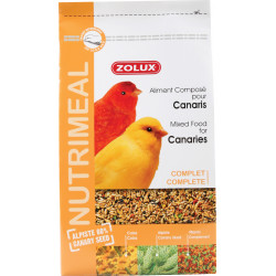 zolux Compound feed for canaries. nutrimeal. 2.5 kg. for birds Food and drink