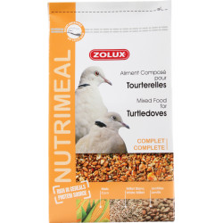 zolux Compound feed for turtle doves. nutrimeal. 2.5 kg. for birds Food and drink