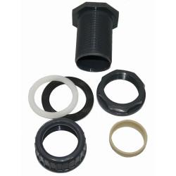 ø 32 mm Traversée de paroi pvc + écrou de serrage Traversée de Paroi PVC VAN DE LANDE STLIE32E