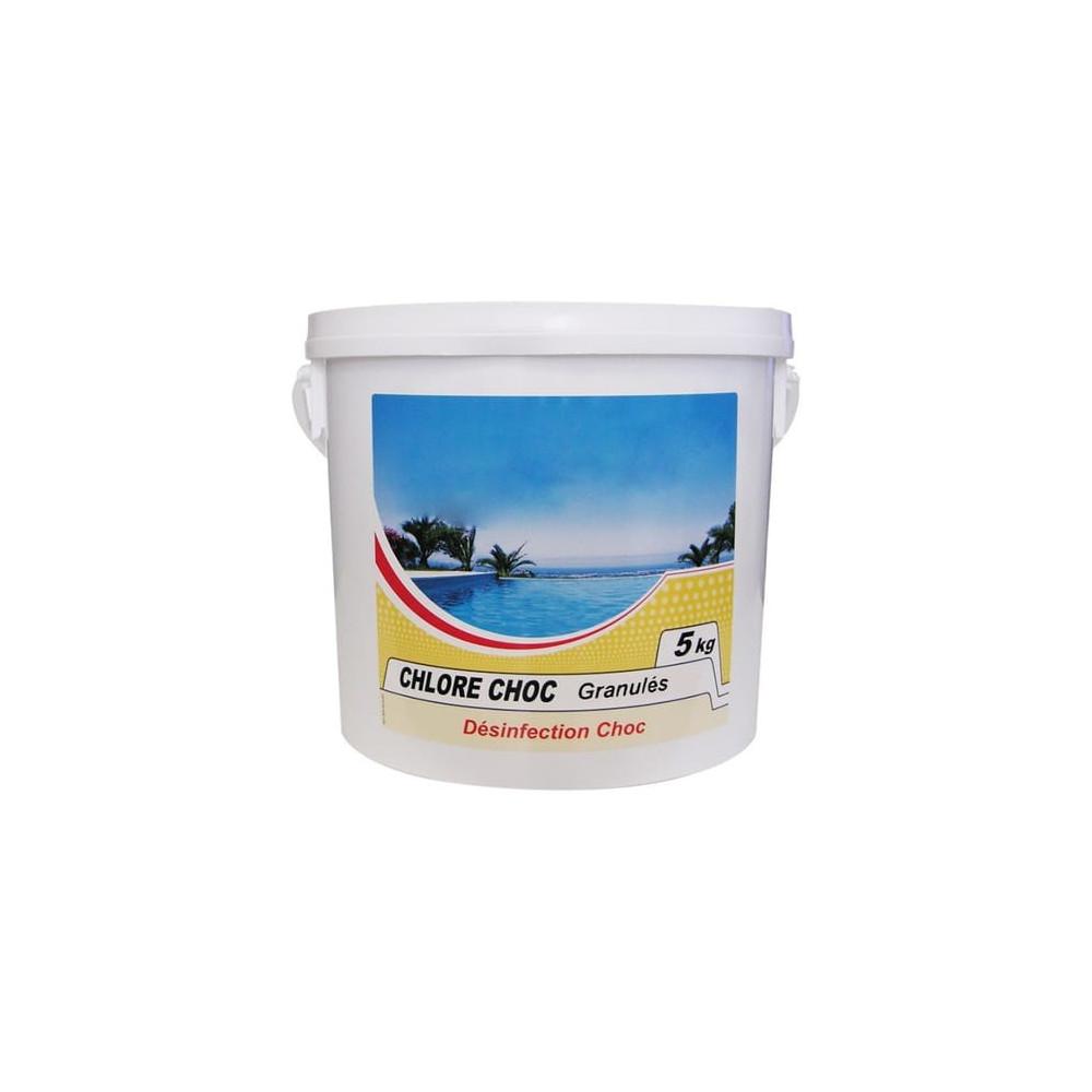 Chlore rapide granulés 5 kg Produit de traitement Générique  BP-51438833