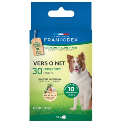 Francodex vers O Net Pest Control 30 tablets for dogs anti-parasitic