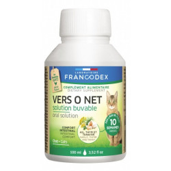 Francodex pest Control Vers O Net 100 ML Drinkable Solution For Kittens and Cats ANTIPARASITAIRE