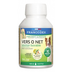 Francodex pest Control Vers O Net Oral Solution 100 ML For Puppies and Dogs anti-parasitic