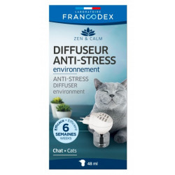 francodex FR-170335 Environmental Stress Relief Diffuser For Cats and Kittens Chat