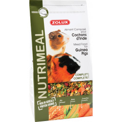 zolux Compound feed for Guinea pigs. 800 g. sachet for rodents. Food and drink