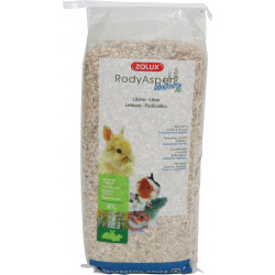 zolux Rodyaspen Nature XL 60 L. Litter for rodents. weight 9.7 kg Hay, litter, shavings