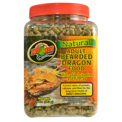 ZOOMED ZO-387292 Food for adult pogona 283 gr . ZM76E. reptiles. Food and drink