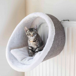 Trixie TR-43144 Radiator shelter for cats. ø 38 x 34 cm. Sleeping