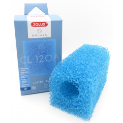 zolux Blauer Schaumstoff medium CL 120 B . für Pumpe classic 120. für Aquarium. ZO-330212 Filtermedien, Zubehör