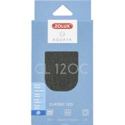 zolux ZO-330213 Carbon foam CL 120 B. for classic 120. aquarium pump. Filter media, accessories