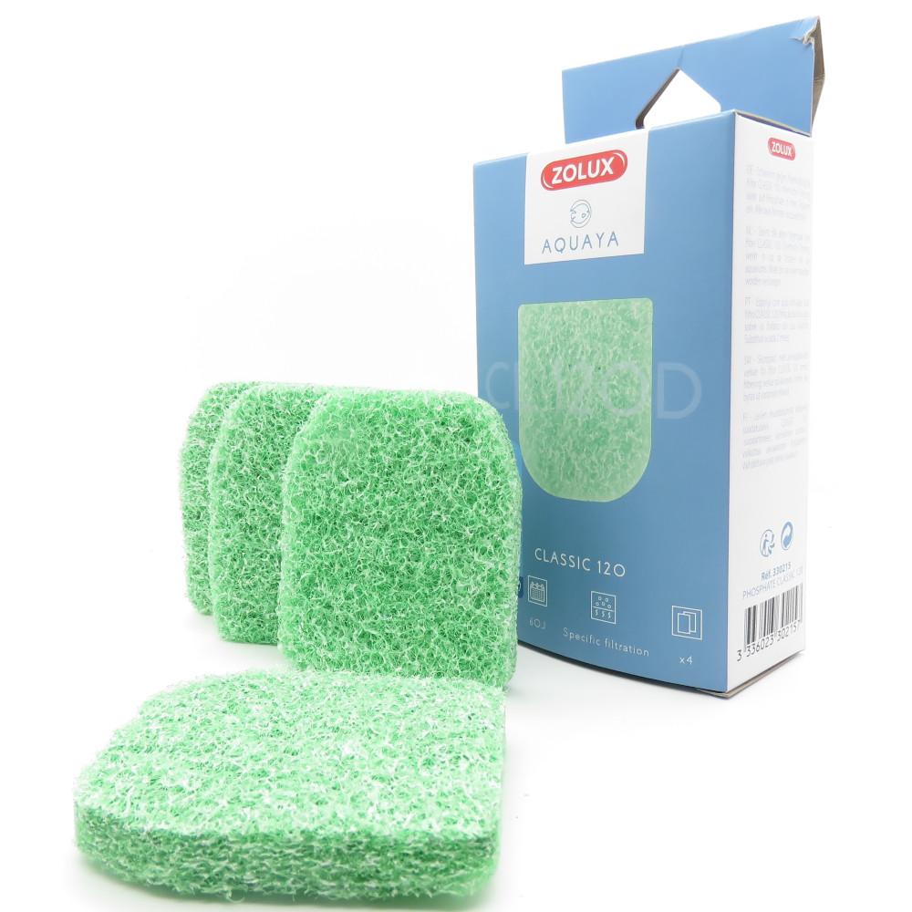 zolux Anti-algae foam CL 120 B. for classic 120. aquarium pump. Filter media, accessories