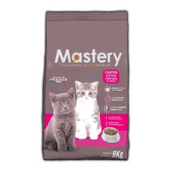MASTERY aliment pour chien et chat crocchette per gattini 8 kg MA-582222 Mangiare e bere