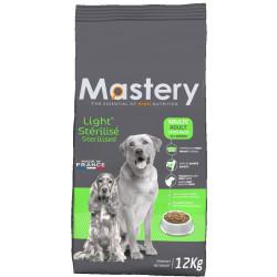 MASTERY aliment pour chien et chat MA-482211 Croquettes light pour chien stérilisé 12 KG Dog food