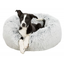 Trixie TR-37318 Round Harvey bed white-black ø 50 cm for cat and small dog . Sleeping