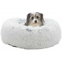Trixie TR-37319 Round Harvey bed white-black ø 60 cm. for cat and small dog . Sleeping