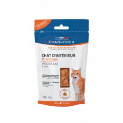 Francodex Indoor Cat Treats For Kittens and Cats 65g Nourriture