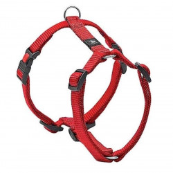 Flamingo Pet Products Harness H Ziggi red . neck size 70 -110 cm. 25 MM . size XXL+. for dog. dog harness