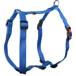 Flamingo Pet Products Harness H Ziggi blue. neck size 70 -110 cm. 25 MM . size XXL+. for dog. dog harness