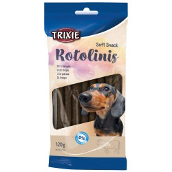 Trixie friandise chien Soft Snack Rotolinis au tripe 120g soit 12 pieces TR-3155 Friandise chien
